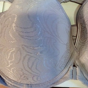 Bali Intimates & Sleepwear - Bali size 42 D front close lilac soft bra lot of 2